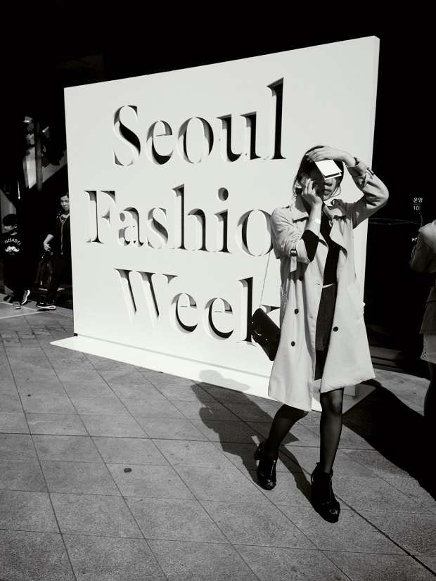 Seoul Fashion Week in Dongdaemun Design Plaza.