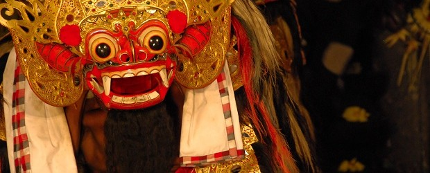The colourful Barong dance is available all over Bali for any would-be tourist.