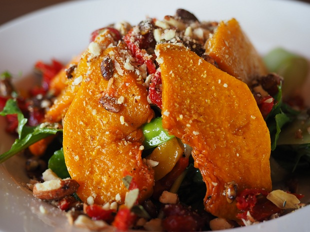 Madu Pumpkin Salad and Toasted Nuts